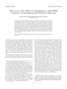 Journal of Educational Psychology 2013, Vol. 105, No. 1, 176 –198 © 2012 American Psychological Association/$12.00 DOI: a0029481