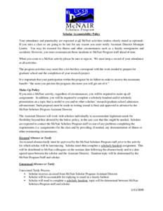 Microsoft Word - Scholar Accountability Policy