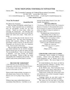 Microsoft Word - January 2001 Newsletter