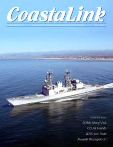 CoastaLink Vol. XIII, No. 5 Naval Surface Warfare Center, Port Hueneme Division  May 2005