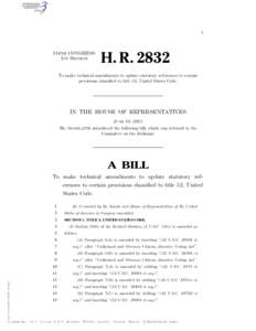 I  114TH CONGRESS 1ST SESSION  H. R. 2832