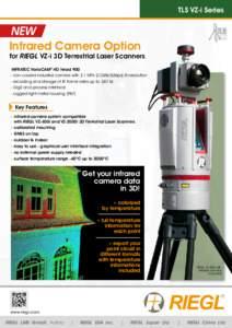 TLS VZ-i Series  NEW Infrared Camera Option  for RIEGL VZ-i 3D Terrestrial Laser Scanners