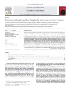 Mirror neuron idmarch document search engine for Neurones miroir