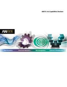 ANSYS 14.0 Capabilities Brochure