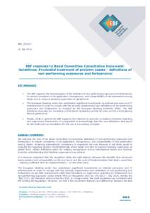 EBF_021627 - EBF preliminary draft response on the Basel consultation on non-performing loans and forbearance.docx