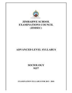 Zimsec science syllabus
