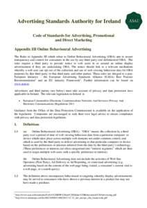 Microsoft Word - ASAI Appendix III - OBA Rules 2013.doc