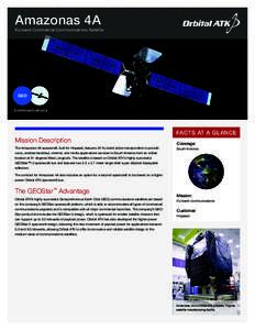 Amazonas 4A  Ku-band Commercial Communications Satellite GEO Communications