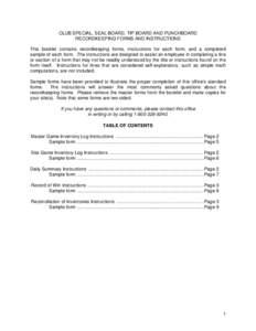Washington state gambling commission license