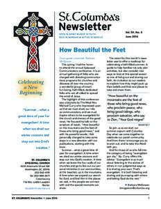 Newsletter  Vol. 59, No. 5 JuneHow Beautiful the Feet