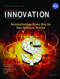 National Aeronautics and Space Administration  TECHNOLOGY INNOVATION MAGAZINE FOR BUSINESS & TECHNOLOGY
