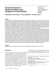 International Journal of Robotics 36(12):1312–1340 c The Author(sReprints and permission: sagepub.co.uk/journalsPermissions.nav