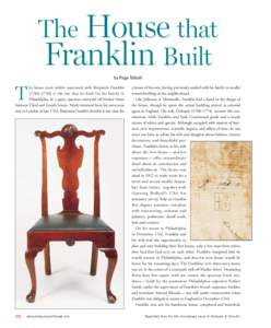 The House that Franklin Built by Page Talbott T