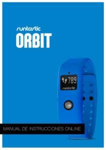 MANUAL DE INSTRUCCIONES ONLINE 1 Orbit Manual ES  Contenido: