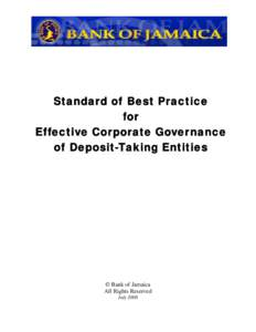 Corporate Governance Standard