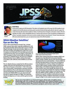 Quarterly Newsletter July - September 2015 Issue 3 N O A A