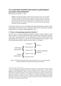 cued thesis nomenclature A separate abstract with thesis title and author name, along with the titlepage can be generated by passing the argument abstract to the document class option to generate only specific chapters and references without the frontmatter and title page useful for review and corrections.
