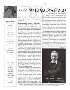 Barbara Stafford  A Newsletter For Poets & Poetry Volume 18, Issue 1 - Spring/Summer[removed]Board of Trustees