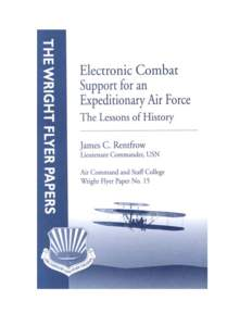 Electronic Combat Support for an Expeditionary Air