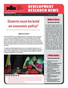 Philippine Institute for Development Studies Surian sa mga Pag-aaral Pangkaunlaran ng Pilipinas