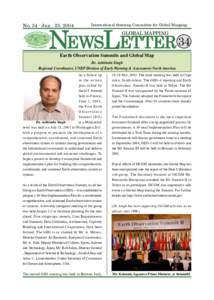 NEWSLETTER 34  NoJun . 25, 2004 International Steering Committee for Global Mapping