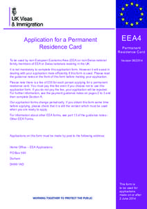 The Immigration (European Economic Area) Regulations 2016 - Revised Version