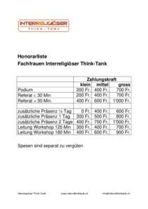 Microsoft Word - Honorarliste Interreligiöser Think-Tank.doc
