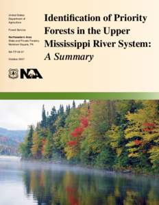 United States Department of Agriculture Forest Service Northeastern Area State and Private Forestry