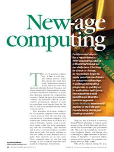 New-age computing T by Adam Hadhazy  22