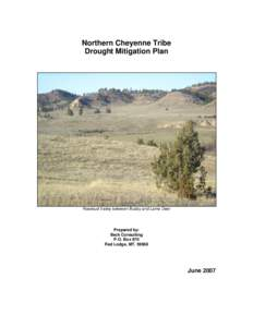 Northern Cheyenne Tribe Drought Mitigation Plan Rosebud Valley between Busby and Lame Deer  Prepared by: