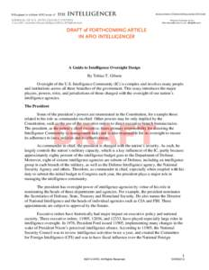 Microsoft Word - GIBSON Draft IntelOversight Draft ver2.docx