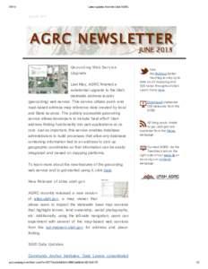 Latest updates from the Utah AGRCJune 28, 2013