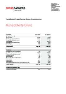 Swiss Bankers Prepaid Services AG KramgasseGrosshöchstetten Switzerland Tel. +