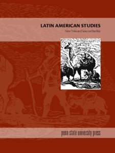 latin american studies New Titles and Selected Backlist penn state university press  New