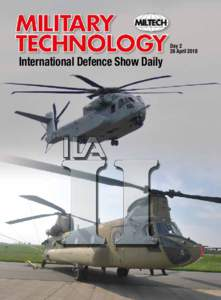 International Defence Show Daily  Day 2 26 April 2018  MILITARY TECHNOLOGY