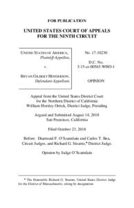 FOR PUBLICATION  UNITED STATES COURT OF APPEALS FOR THE NINTH CIRCUIT  UNITED STATES OF AMERICA,