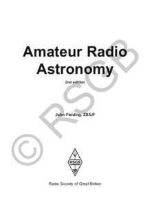 SG  B Amateur Radio Astronomy