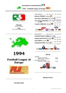 Enciclopedia del football italiano  1994