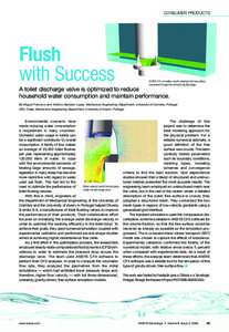 CONSUMER PRODUCTS  Flush with Success  ANSYS CFX simulation results showing the free surface