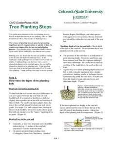 Soil conservation matrix?