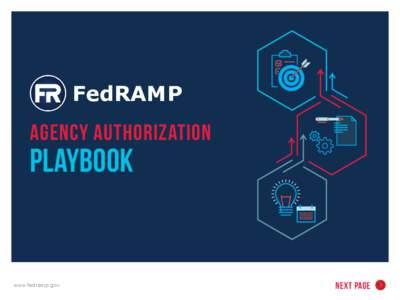 FedRAMP  AGENCY AUTHORIZATION PLAYBOOK