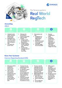 The Temenos guide to  Real World RegTech Accounting IFRS 9