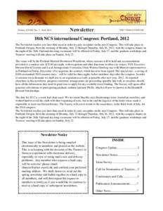 Volume XXXII, No. 2 - FallNewsletter http://chaucer.wustl.edu/
