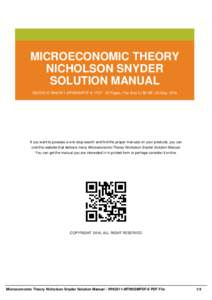 solutions manual to microeconomic theory solution manual Math Solution Manual Textbook Solution Manuals