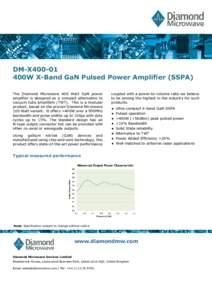 DM-X400-01 400W X-Band .v.4 - April 2016