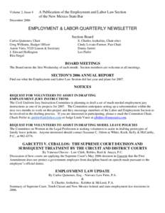 garcetti v ceballos Daniel a schwartz created the connecticut employment law blog in 2007 with the goal of sharing new and noteworthy items relating to employment law with employers.
