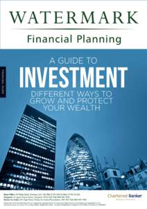 A GUIDE TO  FINANCIAL GUIDE Investment DIFFERENT WAYS TO