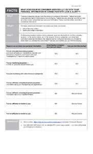 Privacy Notice Form - Mail in with Affiliate Marketing