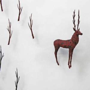 """CATRIN HOWELL BestiaryDecember 2013 """"In the Middle Ages, people imagined that exhilarating or even frightening animals lived beyond the known world. There were tales of giant, long-nosed"""