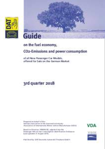 Guide on the fuel economy, CO2-Emissions and power consumption of all New Passenger Car Models, offered for Sale on the German Market